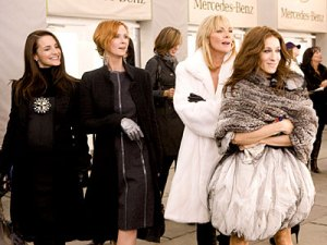 satc. courtesy instyle. i loved the fashion wardrobe.